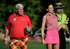 John Daly, Holly Sonders